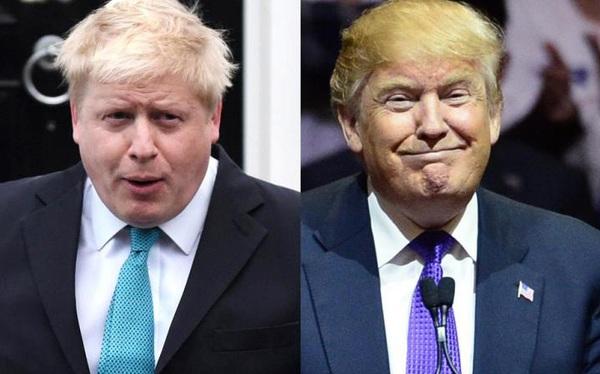 Tổng thống Trump: 'Người Mỹ cầu nguyện cho Thủ tướng Anh'