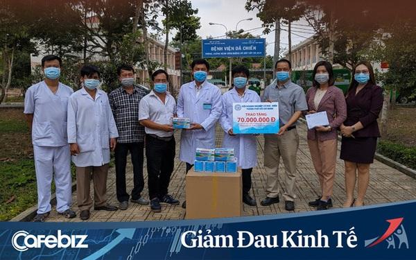 Hội Doanh nghiệp Cơ khí Điện TP. HCM quyên góp 240 triệu đồng tặng các bệnh viện tuyến đầu góp phần chống dịch Covid-19