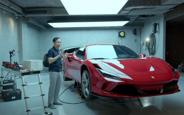 Chuyên gia spa siêu xe bóc tách garage của Cường 'Đô-la': 'Rất độc, rất đã, siêu sạch, đủ chuẩn làm xưởng chuyên nghiệp'