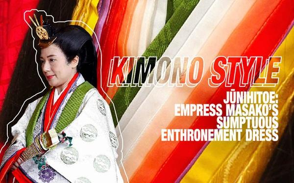 Điều ít biết về bộ trang phục 12 lớp, nặng 20kg đỉnh cao vẻ đẹp trang phục truyền thống Nhật Bản, Hoàng hậu Masako cũng từng mặc ngày đăng quang