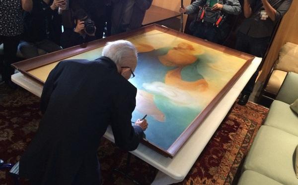 """Bức tranh """"vừa khiếm khuyết vừa hoàn hảo"""" của họa sĩ già và triết lý: Đừng cố làm hài lòng tất cả mọi người!"""