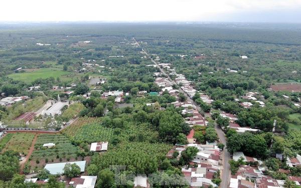 Cận cảnh khu đất hơn 1,8 nghìn ha đang thu hồi làm sân bay Long Thành
