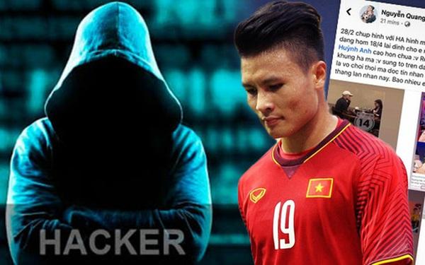 Kẻ hack facebook Quang Hải sẽ phải chịu hình phạt như thế nào?