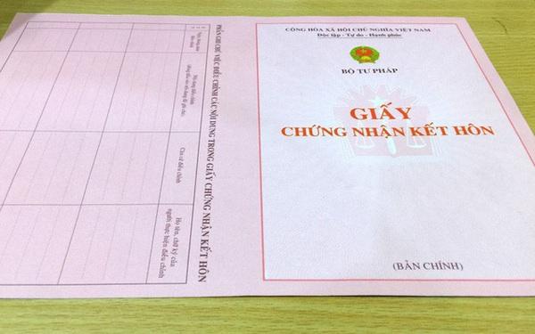 Thực hư giấy xác nhận độc thân phải ghi tên người dự định cưới