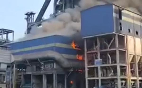 Hòa Phát lên tiếng về vụ cháy tại Khu liên hợp Hòa Phát Dung Quất