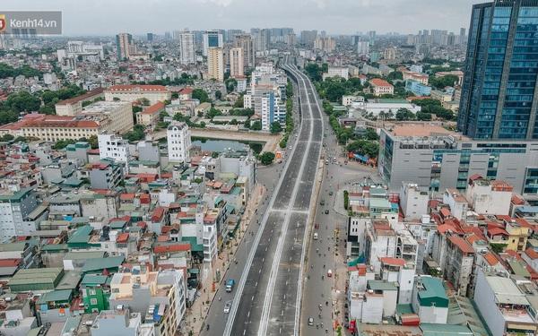 """Clip, ảnh: Người Hà Nội thích thú với diện mạo mới của đường Trường Chinh """"đau khổ"""""""
