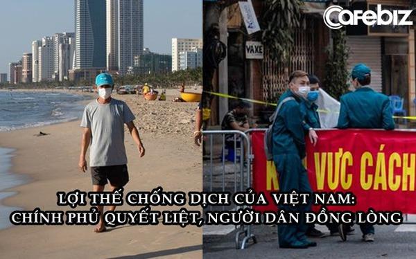 Bloomberg: Việt Nam có lợi thế chống dịch Covid-19 nhờ Chính phủ quyết liệt, người dân đồng lòng