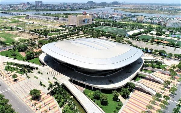 Ảnh: Cận cảnh cung thể thao sẽ trở thành bệnh viện dã chiến chống Covid-19 ở Đà Nẵng