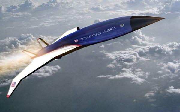 Mỹ phát triển động cơ giúp Không lực Một bay từ New York đến London trong 90 phút