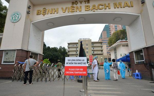 """Bệnh viện Bạch Mai lên tiếng về thông tin """"có ca bệnh dương tính"""""""