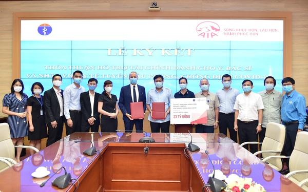 Bảo hiểm AIA Việt Nam hỗ trợ 10 triệu đồng cho mỗi người trong lực lượng y tế được chẩn đoán dương tính với virus SARS-CoV-2 trên tất cả tỉnh thành