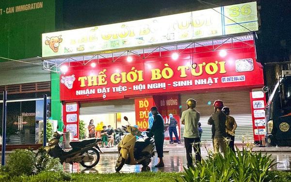 Khẩn: Hà Nội tìm kiếm những người từng đến nhà hàng Thế giới bò tươi ở Hải Dương