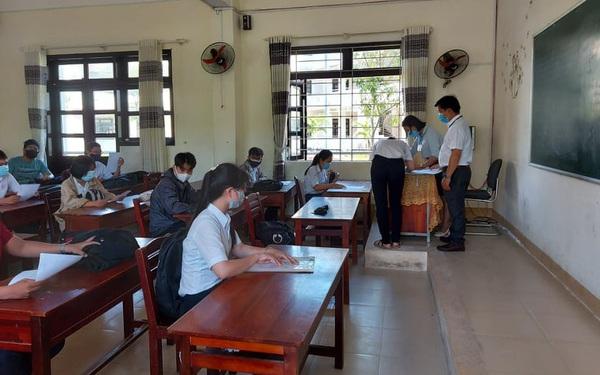Thầy giáo mắc COVID-19 Ở Quảng Nam coi thi tốt nghiệp ở đâu, tiếp xúc với những ai