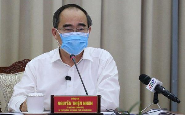 """Bí thư Nguyễn Thiện Nhân: """"TP.HCM vẫn đang ở ngưỡng an toàn"""""""