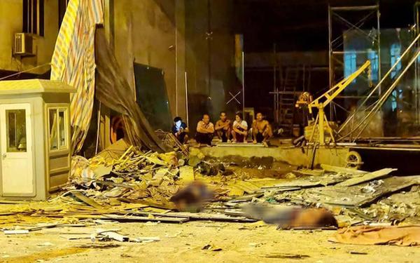Khởi tố vụ sập giàn cẩu làm chết 4 người, trong đó có 2 mẹ con ở Hà Nội