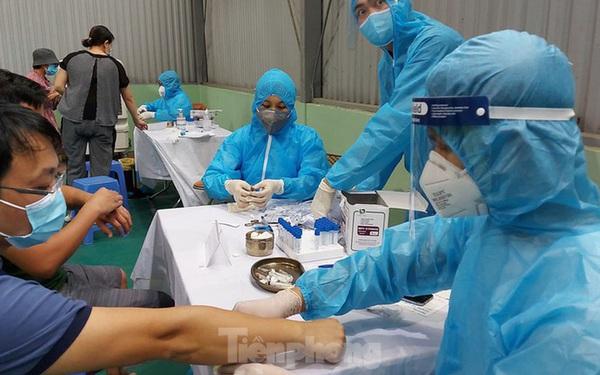Hơn 96.000 người về từ Đà Nẵng, Hà Nội xét nghiệm PCR công suất thế nào?