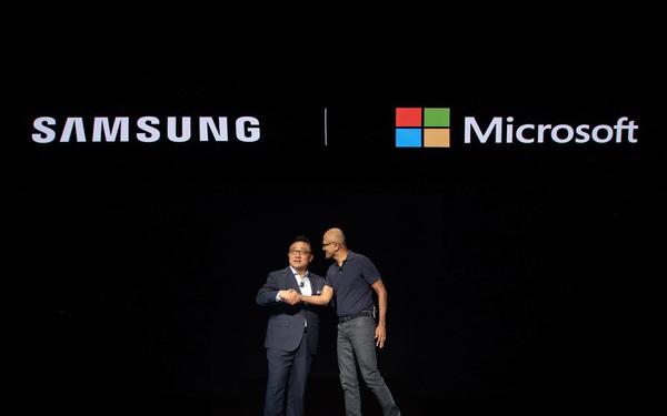 'Lương duyên' Microsoft - Samsung đe dọa Apple