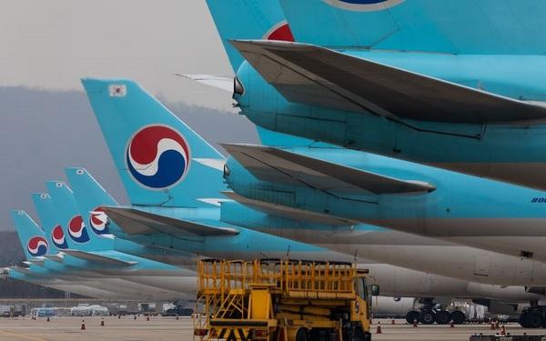Bất chấp Covid-19, hàng không Hàn Quốc vẫn lãi nhờ vận chuyển đồ công nghệ tăng cao