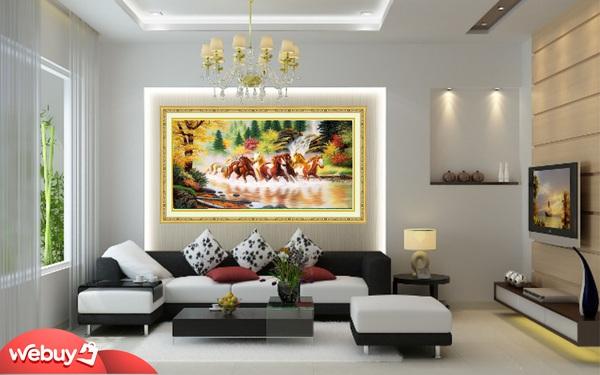 Học cách người giàu treo tranh để mang vận khí tốt, rước tài lộc vào nhà
