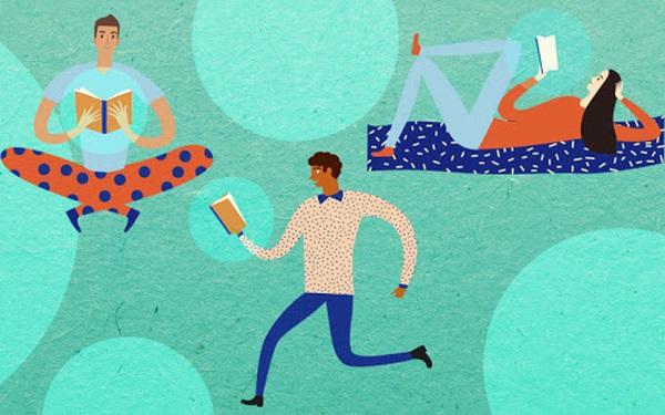 Dậy sớm tập thể dục có sức khoẻ; Học thêm kỹ năng tăng sự chuyên nghiệp; Đọc sách mỗi ngày thêm thông thái: 4 cuốn sách của người làm chủ