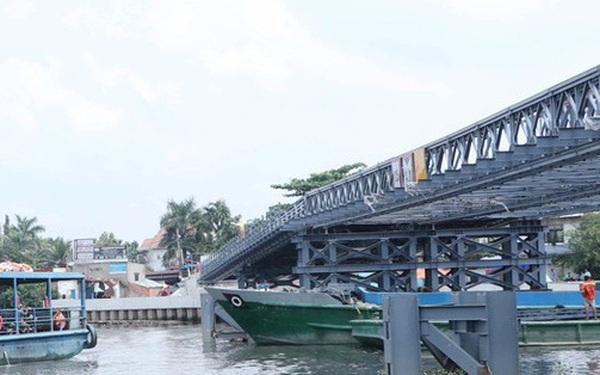 Cận cảnh cây cầu thay thế bến phà cuối cùng trong nội thành Sài Gòn