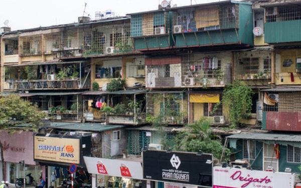 Bộ Xây dựng: Đề xuất cho phép Hà Nội và TP HCM thực hiện cơ chế đặc thù cải tạo chung cư cũ