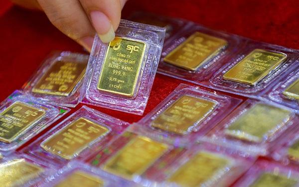 Chênh lệch giá mua - bán vàng miếng lại lên 600 nghìn đồng/lượng