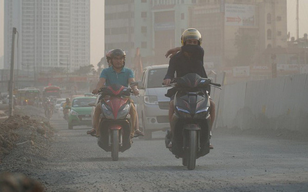 Hà Nội tái ô nhiễm không khí từ sáng nay