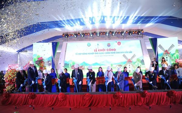 """Khời công dự án """"Tổ hợp Khu nông nghiệp Ứng dụng Công nghệ cao tại Đắk Lắk"""""""
