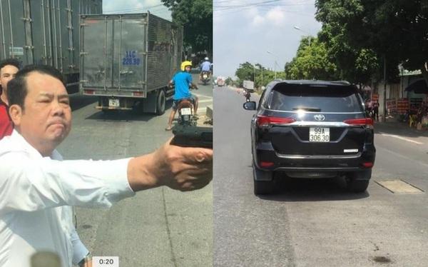 Phê chuẩn lệnh bắt khẩn cấp giám đốc rút súng đe dọa tài xế xe tải ở Bắc Ninh