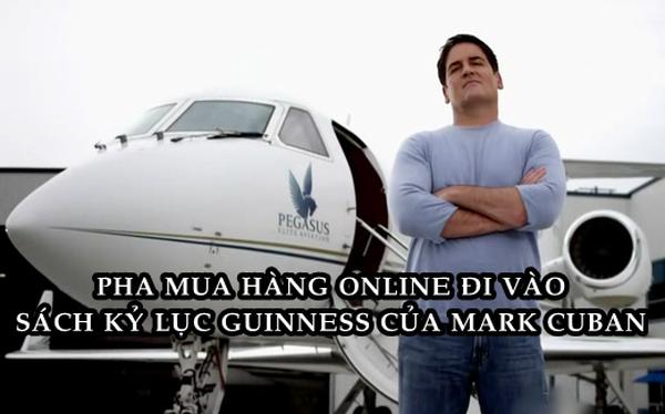 Mua 1 món hàng online trị giá 40 triệu USD, Mark Cuban lập kỷ lục Guinness thế giới năm 1999