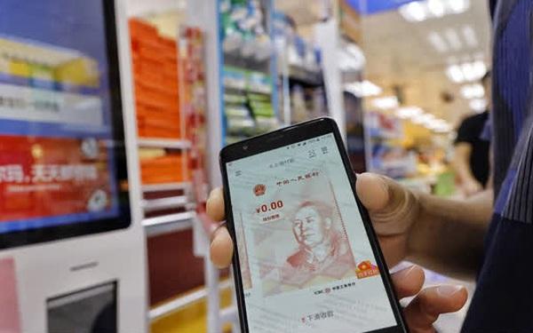 Trung Quốc đẩy mạnh sử dụng Nhân dân tệ số trong thanh toán