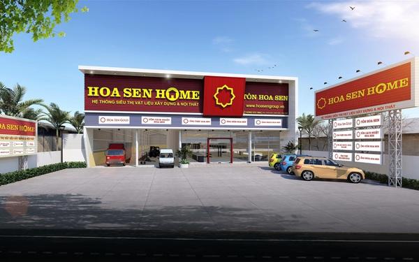 Hoa Sen Group đặt kế hoạch lãi 1.500 tỷ đồng, muốn đẩy mạnh hệ thống siêu thị để bán vật liệu xây dựng tận tay người tiêu dùng