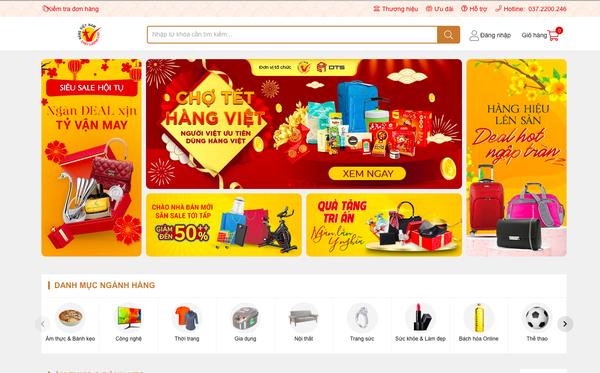 Hội Hàng Việt Nam chất lượng cao tự thành lập sàn thương mại điện tử riêng, là nơi các DN thành viên bán online, tuyên bố tuyệt đối không bán hàng giả