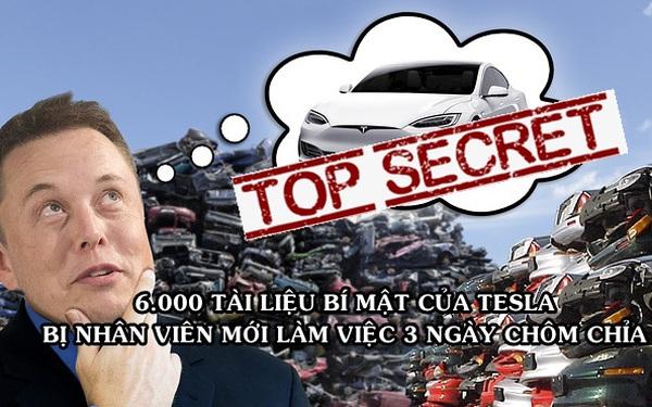 """Mới nhận việc 3 ngày, nhân viên Tesla đã cả gan """"chôm chỉa"""" 6.000 tài liệu bí mật của công ty"""