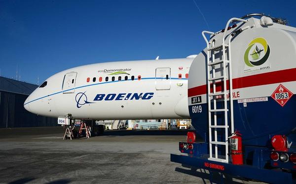 Boeing cam kết sẽ có máy bay thương mại dùng 100% nhiên liệu bền vững, có thể vào năm 2030