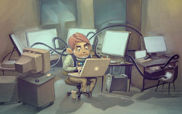 """""""Đồn đại"""" lương IT cao nhưng ham làm việc quá có thể bị... yếu đi"""