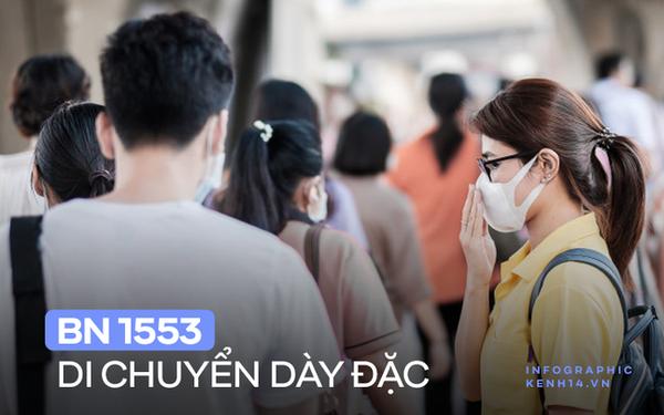 INFOGRAPHIC: Lịch trình dày đặc đi họp lớp, hát karaoke của nhân viên sân bay ở Hạ Long, bước đầu xác định 89 F1