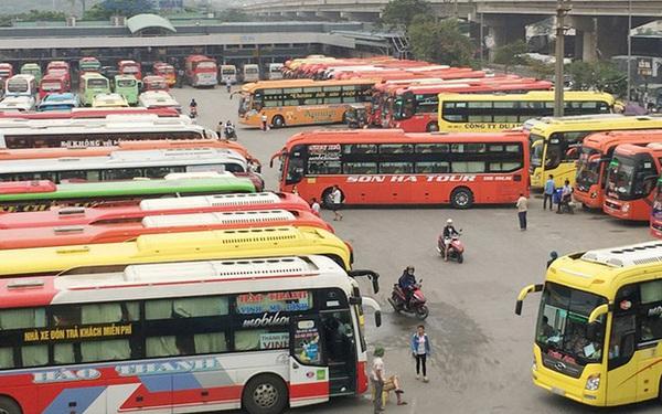 Tạm dừng các tuyến xe khách Hà Nội đi Quảng Ninh