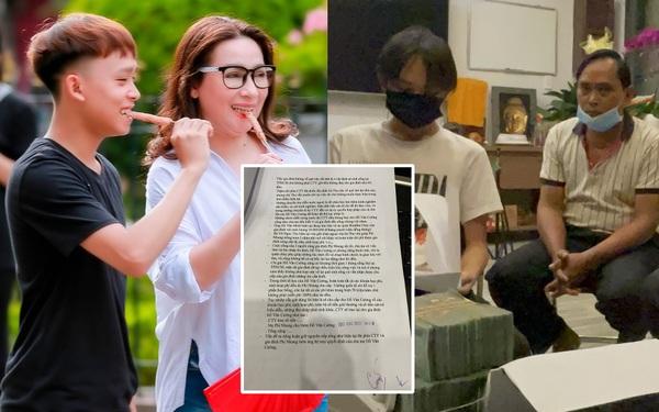 Giấy tờ có chữ ký chính chủ làm sáng tỏ loạt tin đồn: Cát xê, học phí của Hồ Văn Cường, tại sao bố mẹ không xây nhà ở quê?