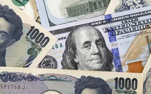 USD lên mức cao nhất 3 năm so với yen Nhật, Bitcoin vượt 57.000 USD