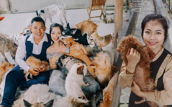 Cặp vợ chồng cưu mang 100 con chó, mèo bị chủ F0 bỏ rơi mùa dịch: 'Chúng tôi không sinh con để chu toàn cho tụi nhỏ'