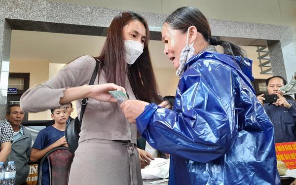 Thủy Tiên đã được các tỉnh miền Trung xác nhận số tiền làm từ thiện là
