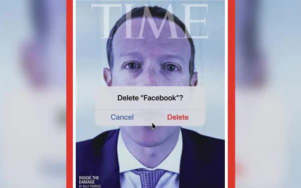 Bìa tạp chí gây sốc của TIME: Hình Mark Zuckerberg đi kèm với câu hỏi 'Bạn có muốn xoá Facebook không'?