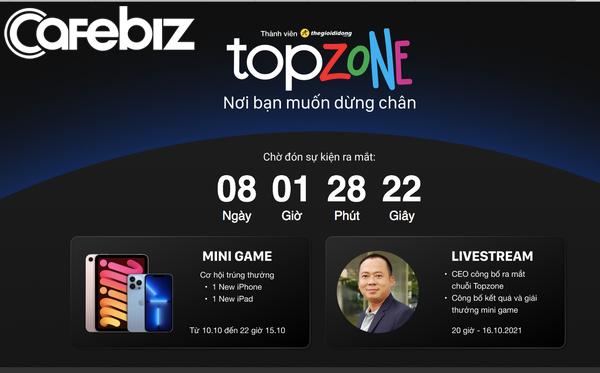 Thế Giới Di Động ra mắt chuỗi mới: Chuyên bán lẻ thời trang cao cấp có tên Topzone?