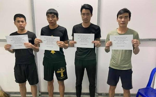Bơi qua biên giới để về quê ăn Tết, 4 đối tượng bị bắt giữ