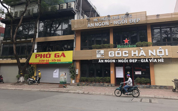 Vì sao không bị cấm nhưng nhiều nhà hàng ở Hà Nội vẫn cửa đóng then cài?