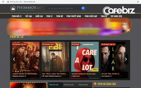 Đại diện thương mại Mỹ tố phimmoi, phimmoizz đăng tải trái phép hàng nghìn bộ phim và chương trình truyền hình