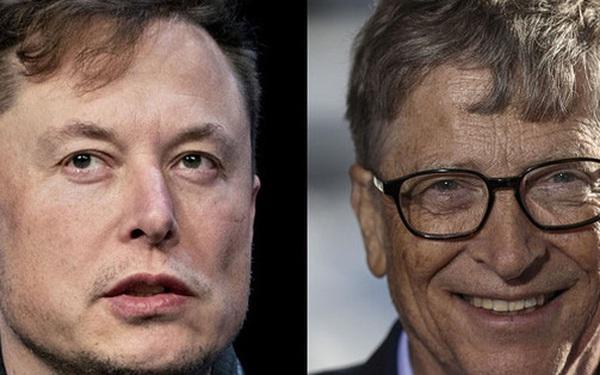 """""""Khẩu chiến"""" giới siêu giàu: Elon Musk một mình """"đấu"""" với Bill Gates và Warren Buffett"""