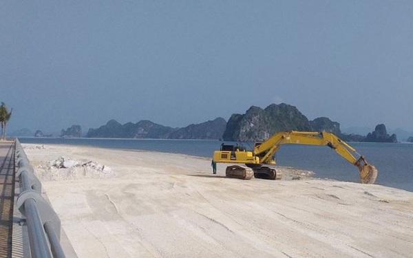 Lấn chiếm vịnh trái phép, chủ dự án BĐS 'hot' nhất Vân Đồn buộc trả nguyên trạng